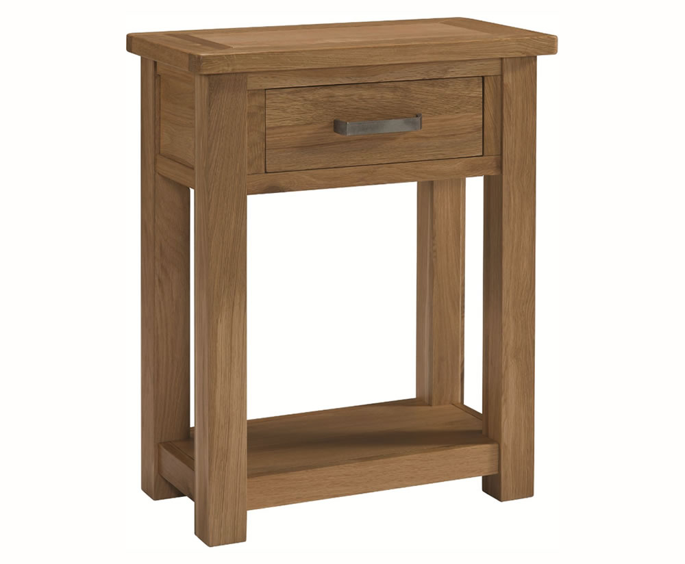 small oak console hall tables. Black Bedroom Furniture Sets. Home Design Ideas