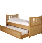 Zoey Oak Guest Bed