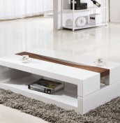 Arvada White High Gloss Coffee Table