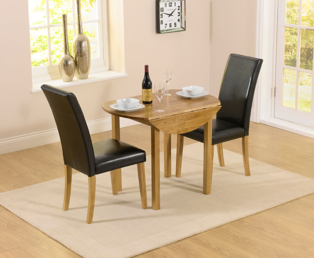 100 dining room sets for 2 2 person table set drop leaf table 2 black chairs the hainton - Two person dining table set ...
