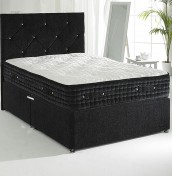 Majestic Black Pocket Sprung Divan Set