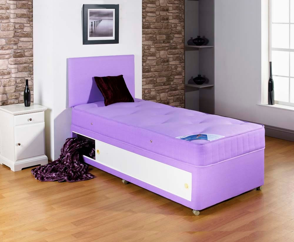 Alexis Lilac Childrens Divan Set Uk Delivery