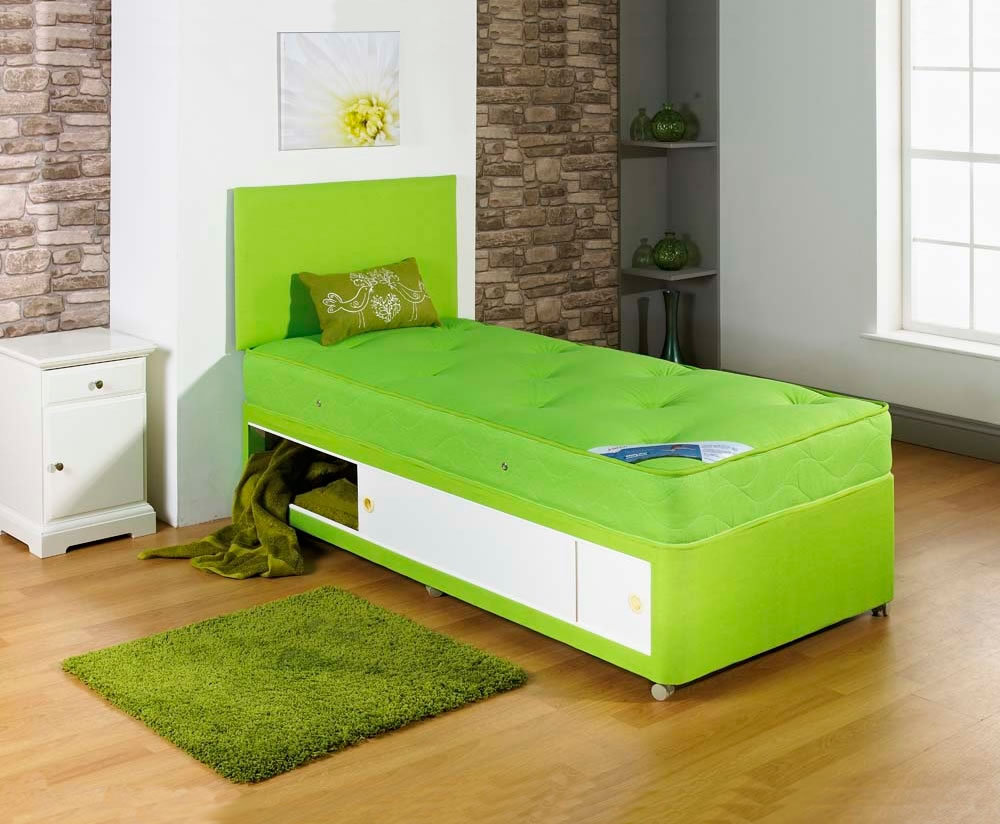 Alexis Lime Childrens Divan Set Uk Delivery