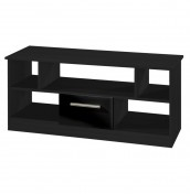 Vista Black High Gloss Open TV Unit *Special Offer*