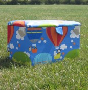 Flying High Cobalt Childrens Toy Box