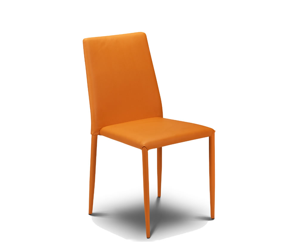 Orange dining chairs sale orange dining chairs furniture for Furniture sales today