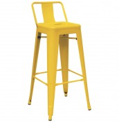 Mojo Yellow Metal Bar Stools