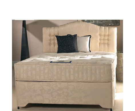 Kashmir pocket sprung divan set for Pocket sprung divan set