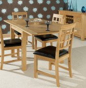 Dalston Oak Extending Dining Set