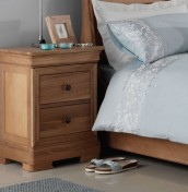 Nancy Oak Bedside Chest