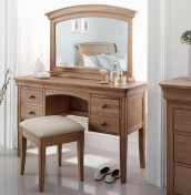 Nancy Oak Dressing Table