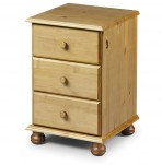 Pickwick Pine Childrens Bedside Chest