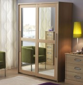 Strata 2 Door Mirrored Sliding Wardrobe