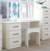 Cristal Ivory Dressing Table