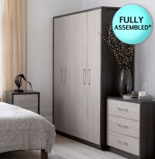Kavarna 4 Door Wardrobe