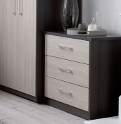 Kavarna 3 Drawer Chest