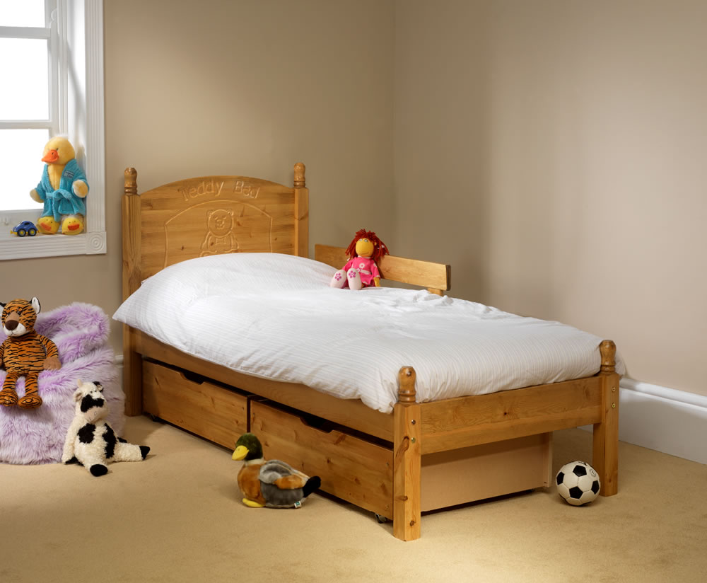 Single Bed Without Headboard