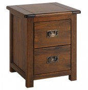 Nepal Dark Bedside Chest