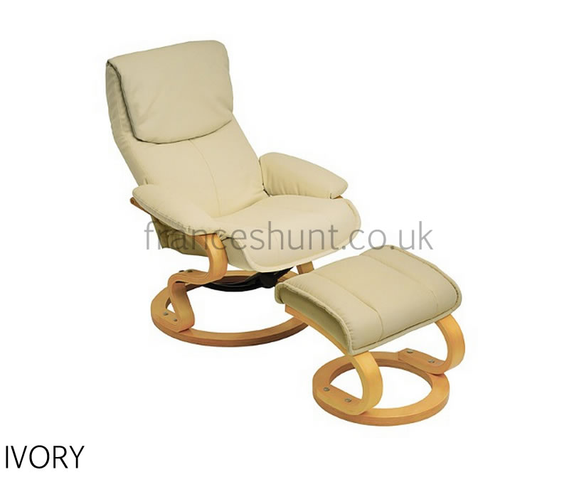 SWIVEL RECLINER LEATHER CHAIR | LEATHER CHAIRS