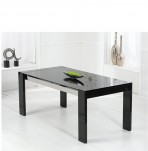 Newton Black High Gloss Dining Table