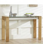 Lucera Oak Console Table