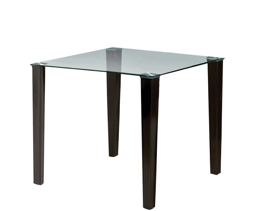 Quattro Square Glass Dining Table