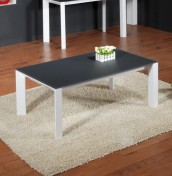 Anwick Grey Glass Coffee Table