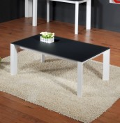 Firsby Black Glass Coffee Table