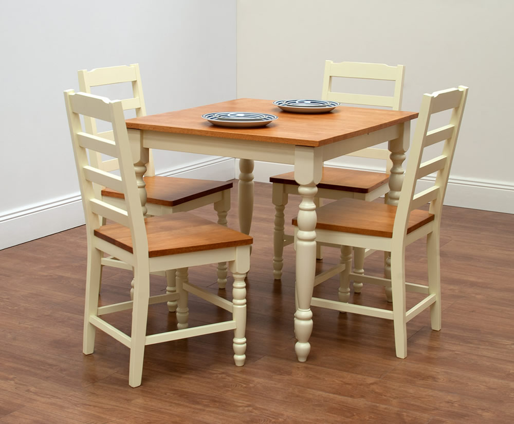 Table Option Extending Table 2 Farmhouse Chairs Extending Table