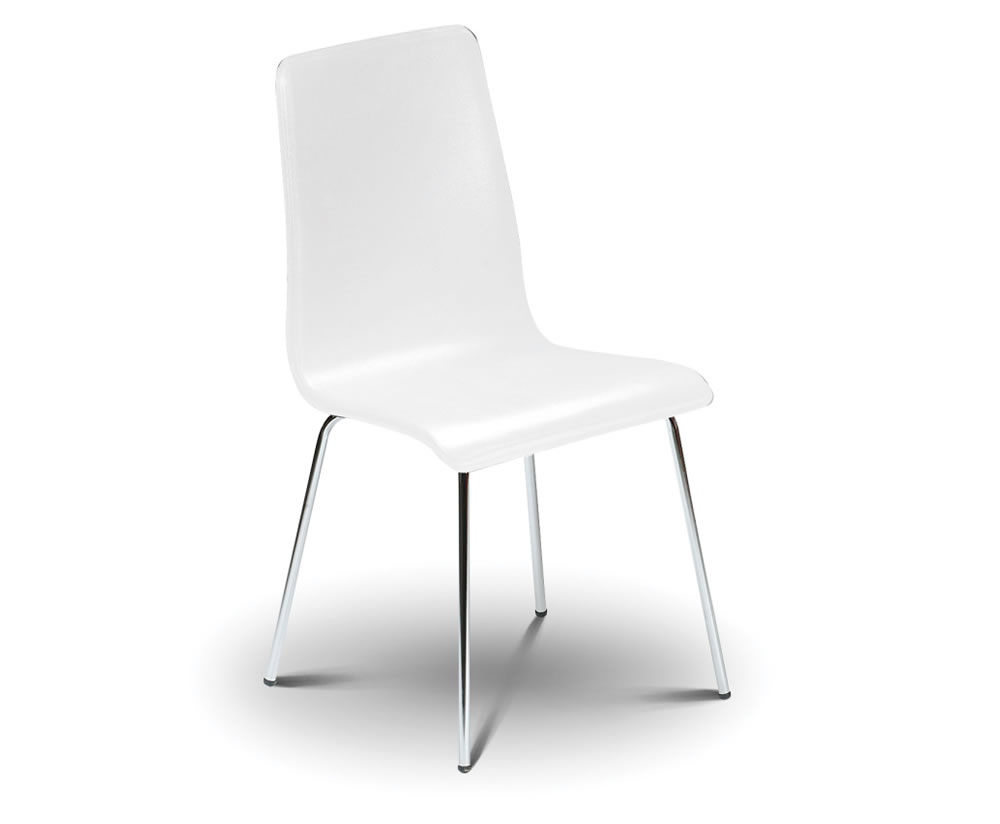 mandy white budget dining chair white dining chair