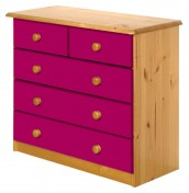 Danby 3+2 Drawer Pine Chest