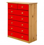 Danby 5+2 Drawer Pine Chest