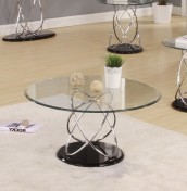 Askella Clear Glass Coffee Table