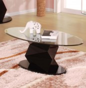 Minkar Clear Glass Coffee Table