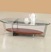 Tarka Clear Glass Coffee Table