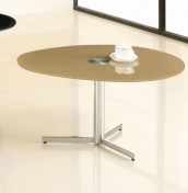 Vespa Cappuccino Glass Coffee Table