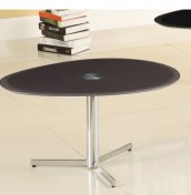 Vespa Grey Glass Coffee Table