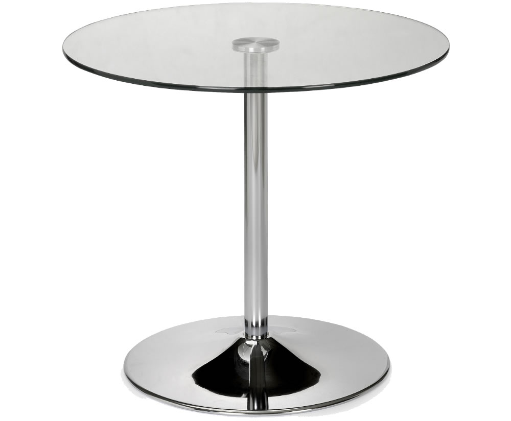 Kansas Round Glass Kitchen Table