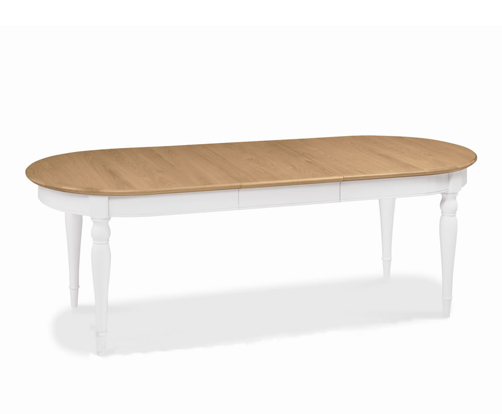 Hampstead Two Tone Extending Dining Table UK Delivery