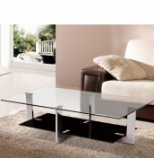 Manhattan Glass Coffee Table