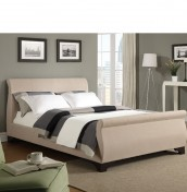 Reeves Upholstered Sleigh Bed