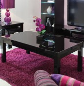 Montreal Black High Gloss Coffee Table
