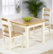 Albans Pine Breakfast Table and Chairs