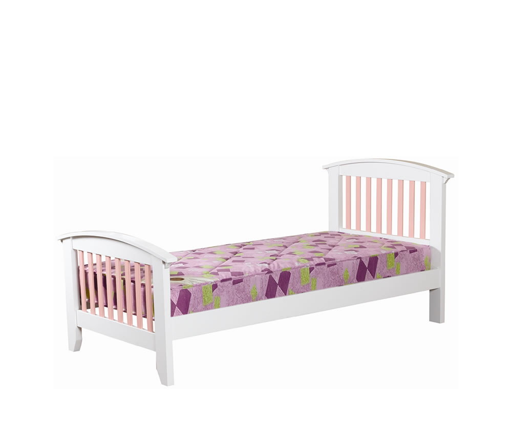 Cameo off white kids bed frame 10 day express uk delivery for Childrens bed frames