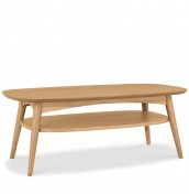 Orbit Oak Coffee Table