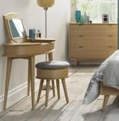 Orbit Oak Dressing Table