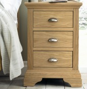 Hampstead Oak Bedside Chest