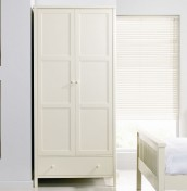 Atlantis Ivory 2 Door Wardrobe