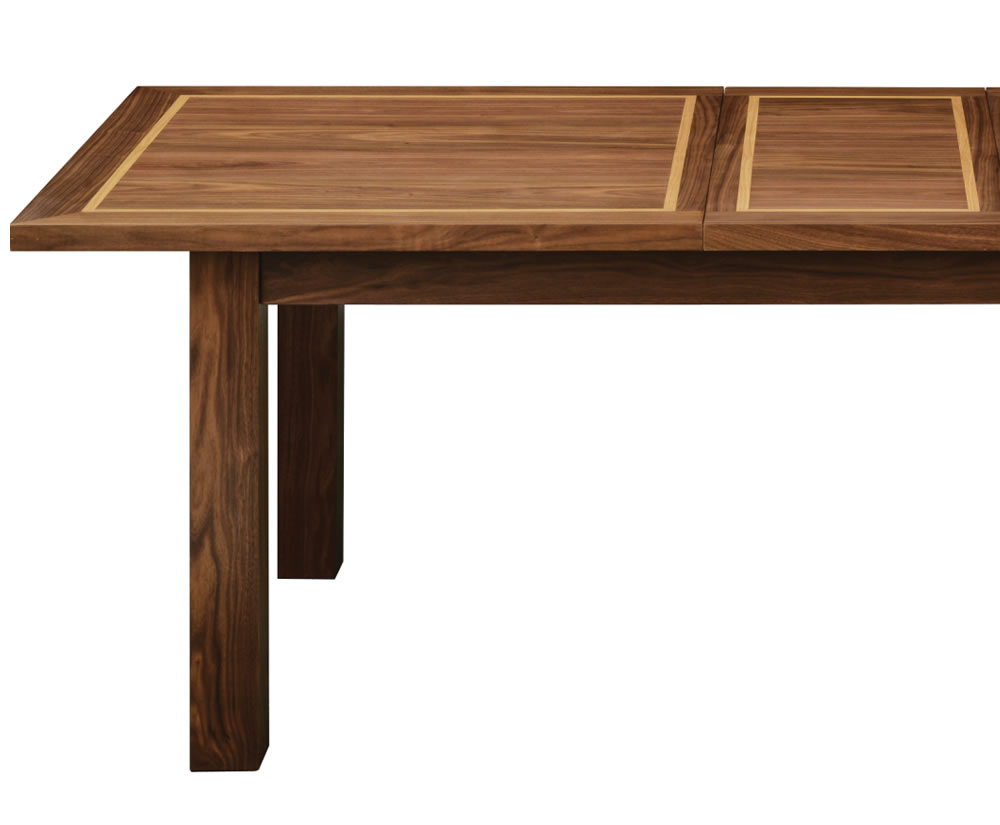 akita walnut dining table uk delivery. Black Bedroom Furniture Sets. Home Design Ideas