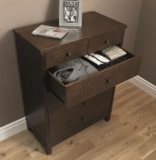 Atlanta Dark 4+2 Drawer Chest